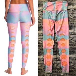 Teeki - New Moon Rainbow Hot Pant Leggings